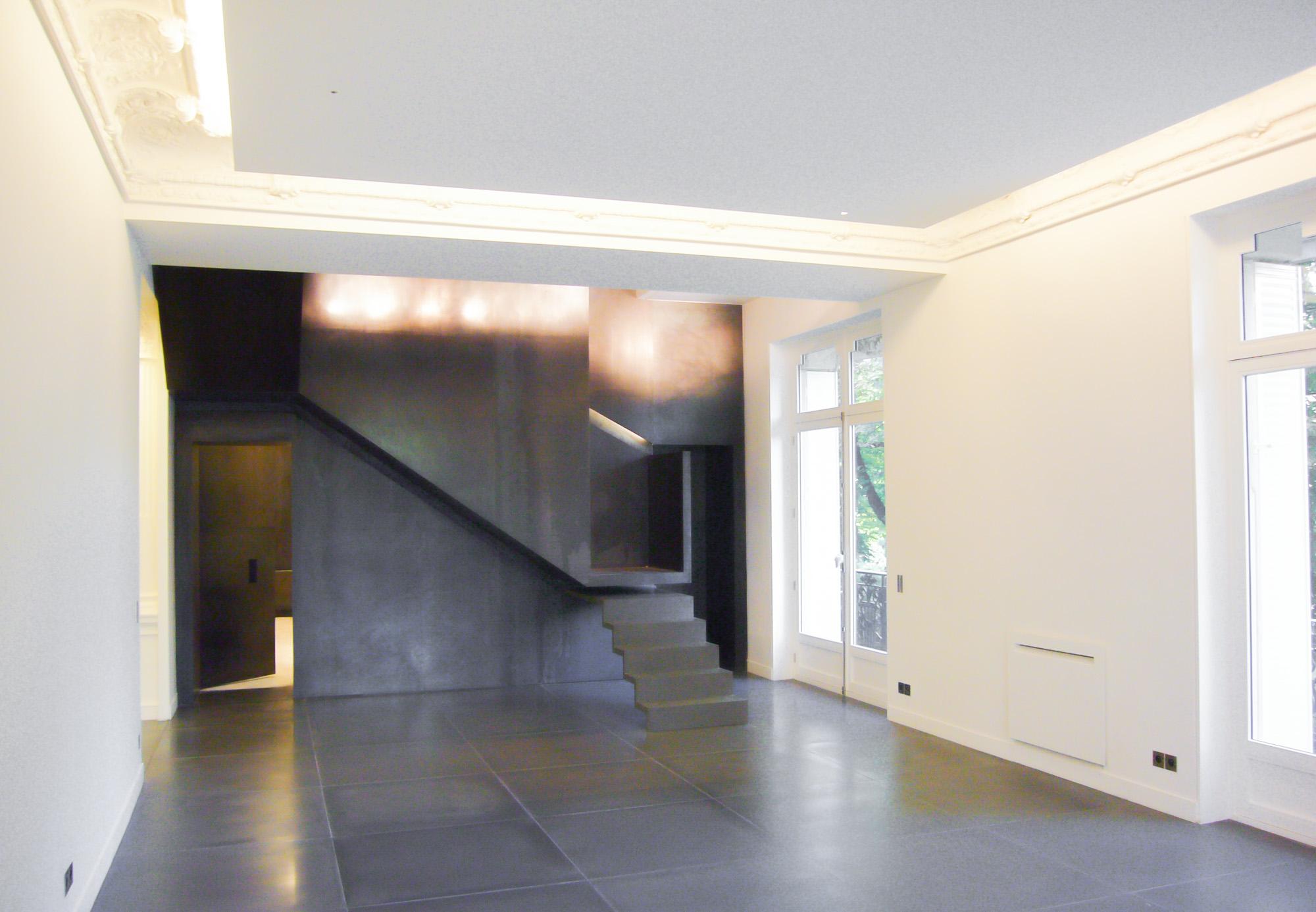 LLAMATA  Appartement duplex  Paris 8